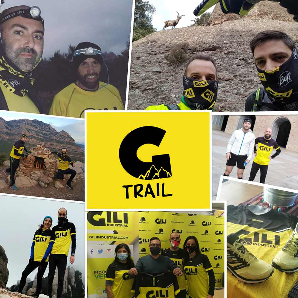Iniciativa Gili Trail deporte en la montaña