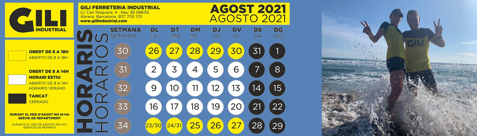 AGOST 2021
